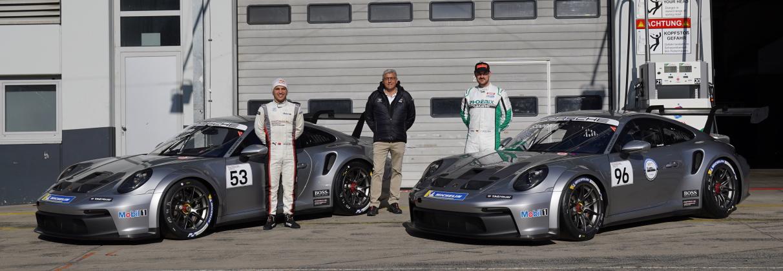 Rückkehr in den Porsche Carrera Cup